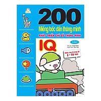 200 Miếng Bóc Dán Thông Minh 2-10 Tuổi - Phát Triển Chỉ Số Thông Minh IQ (Tập 2)