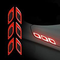 Mang cá phản quang dán xe ô tô MC031