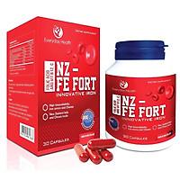 Viên uống bổ sung sắt hữu cơ nano sắt ưu việt thế hệ mới NZ - FE FORT Hàng Nhập Khẩu Chính hãng New Zealand