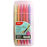 Bộ 12 bút gel màu Monami 0.30mm