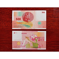 Tờ tiền Comoros 50 Francs , sưu tầm tiền cổ của Comoros , mới 100%