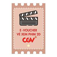 CGV E-Voucher Vé Xem Phim 2D