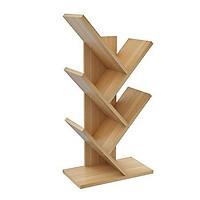 Kệ sách gỗ dạng xương cá (mầu vân gỗ như hình)