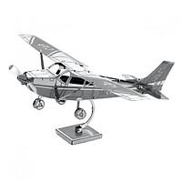 Mô Hình Kim Loại 3D Đẹp - Độc - Lạ: Máy Bay Cessna 172 - Mô Hình Sưu Tầm, Mô Hình Trang Trí, Quà Tặng Mô Hình