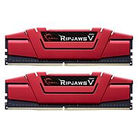 Bộ 2 Thanh RAM PC G.Skill 16GB (8GBx2) Ripjaws Tản Nhiệt DDR4 F4-2666C19D-16GVR - Hàng Chính Hãng