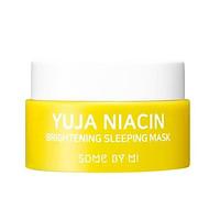 Mặt Nạ Ngủ Dưỡng Trắng Some By Mi Yuja Niacin 30 Days Miracle Brightening Sleeping 15g [Size mini]