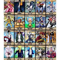 Combo 10 Tờ truy nã - Wanted Poster nhân vật One Piece World Project - Khổ lớn 28.7cm x 40.6cm