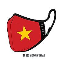 Khẩu trang thời trang cao cấp Soteria Vietnam's Flag - Size L