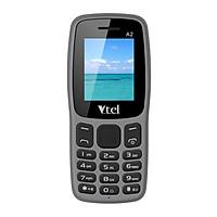 Điện thoại di động GSM Vtel A2 (Màu xám khói) – Hàng chính hãng