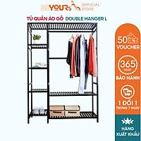 Tủ Treo Quần Áo Gỗ BEYOURs Size Khổng Lồ - Double Hanger Lắp Ráp Dễ Dàng - Nội Thất Phòng Ngủ