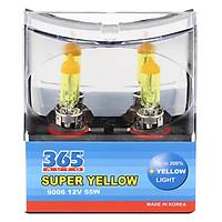 Bóng Đèn Phá Sương 365-Auto HB4 Super Yellow (55W) - Vàng
