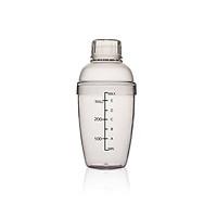 Bình Lắc Pha Chế Shaker Cocktail ,Pha Trà Sữa Bằng  Nhựa Cứng Có Vạch Chia In Đậm