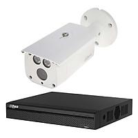 Trọn bộ 1 Camera quan sát Dahua HD CVI 4 Megapixel HAC-HFW1400DP FULL 4K - Hàng chính hãng