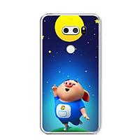 Ốp lưng dẻo cho điện thoại LG V30 - 0051 PIGCUTE06 - Hàng Chính Hãng