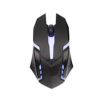 GESOBYTE X1 USB cable game mouse black esport mouse mouse Jedi survival chicken colorful gradient glow mouse