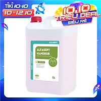 Nước rửa tay khô sát khuẩn Alfasept Handrub 5L - Can lớn tiết kiệm