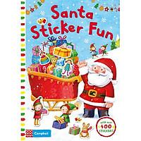 Santa Sticker Fun (Christmas books)
