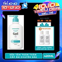 Sữa Tắm Toàn Thân Cấp Ẩm Chuyên Sâu Curel Intensive Moisture Care Body Wash (420ml)