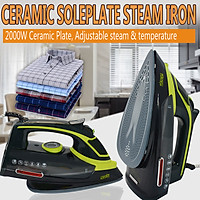 2000W 220v Electric Garment Iron Adjustable Steam Clothing Laundry Appliance