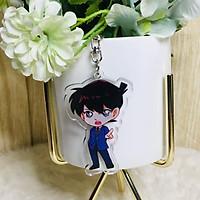 Móc khóa mica trong Conan quà tặng xinh xắn dễ thương anime chibi tặng thẻ Vcone