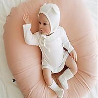 Gối chống trào ngược cho bé Rototo Bebe - màu hồng phấn