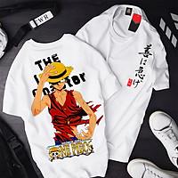 Áo One Piece Luffy ATT-06, Áo thun Anime Manga One Piece Monkey D. Luffy Unisex Nam Nữ