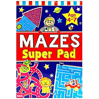 Mazes Super Pad (Age 4-7)