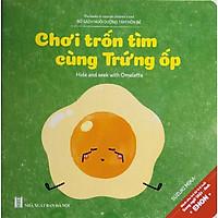 EHON Nhật Bản Song Ngữ - Chơi Trốn Tìm Cùng Trứng Ốp - Kỹ Năng Tuyệt Vời Nuôi Dưỡng Tâm Hồn Trẻ