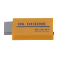 Wii to HDMI Converter Support Full HD 720P 1080P 3.5mm Audio Adapter for HDTV Wii Converter