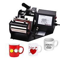 Aibecy Mug Heat Press Machine 11oz Heat Transfer Sublimation Printing DIY Machine with Digital Display for Mugs Cups