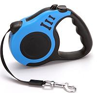 Dây dắt chó tự động thu gọn, dây dắt thiết kế tự thâu dây tiện lợi khi sử dụng