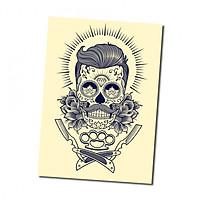 Sticker decal dán tường - BARBER 2