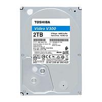Ổ cứng HDD Toshiba 2TB VideoStream V300 series (64MB) 5700rpm SATA3 HDWU120UZSVA - Hàng Chính Hãng