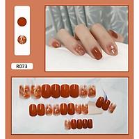 Bộ 24 móng tay giả nail thời trang như hình (R-073)