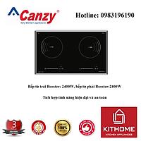 Bếp từ đôi Canzy CZ 858 LS.i - nhập khẩu TháiLand chính hãng