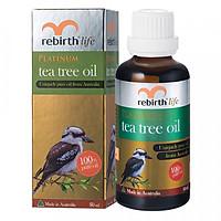 Tinh Dầu Trà Xanh Lanopearl Rebirth Life Platinum Tea Tree Oil RL13