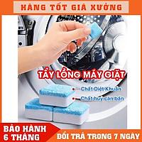 Viên Tẩy Lồng Giặt, Diệt khuẩn ,Tẩy chất cặn bẩn Lồng máy giặt nhật bản  - Bột vệ sinh máy giặt TLG