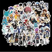 Bộ 50 miếng Sticker hình dán Fairy Tail