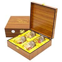 Yến Sào Song Việt - Hộp gỗ 4 phần yến