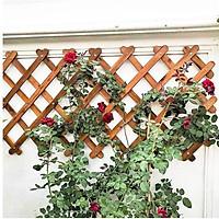 KHUNG HOA LEO GỖ XẾP GỌN - Dùng làm khung leo cho cây hoa leo - Tạo thêm điểm nhấn mảng xanh cho không gian nhà