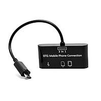 ĐẦU ĐỌC THẺ KIÊM CÁP OTG USB CỔNG MICRO USB SG007