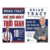 Combo Nghệ Thuật Quản Lý Thời Gian + Nguyên Tắc Kinh Doanh Của Brian Tracy ( Tặng bookmark Green Life) )