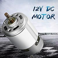 775 DC12V-24V Micro High Speed Power 13000-15000rpm 775 Motor 0.32A 5mm Shaft