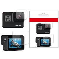 Kính Cường Lực Màn Hình GoPro Hero 5 Hero 6 Hero 7 Black - Bộ 2 miếng