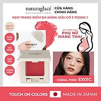 Kem trang điểm đa năng 3 trong 1 - naturaglacé Touch On Colors