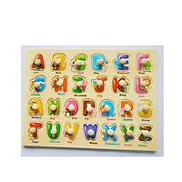 5 Bảng đồ chơi ghép gỗ có núm cho bé  Mã 026