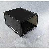 Combo 8  hộp đựng giày Sneaker Box + tặng chai,xịt  vệ sinh sneaker đa năng kèm bàn chải