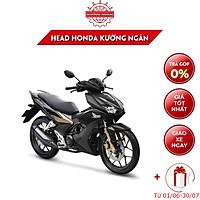 Xe Máy Honda WinnerX - Phiên Bản Đen Mờ - Phanh ABS - Đen Vàng Đồng