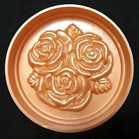 Khuôn ép xôi – Khuôn trung thu hoa hồng chùm