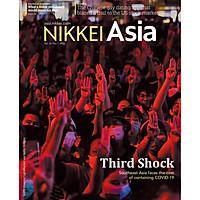 Nikkei Asian Review: Nikkei Asia - THIRD SHOCK - 42.20, tạp chí kinh tế nước ngoài, nhập khẩu từ Singapore